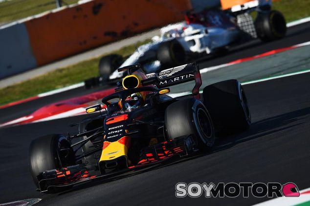 Daniel Ricciardo en el Circuit de Barcelona-Catalunya - SoyMotor