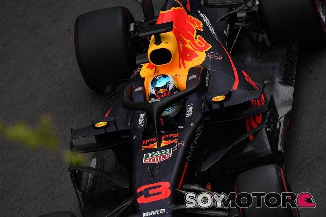 Daniel Ricciardo en Azerbaiyán - SoyMotor