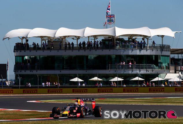 Daniel Ricciardo, hoy en Silverstone - LaF1