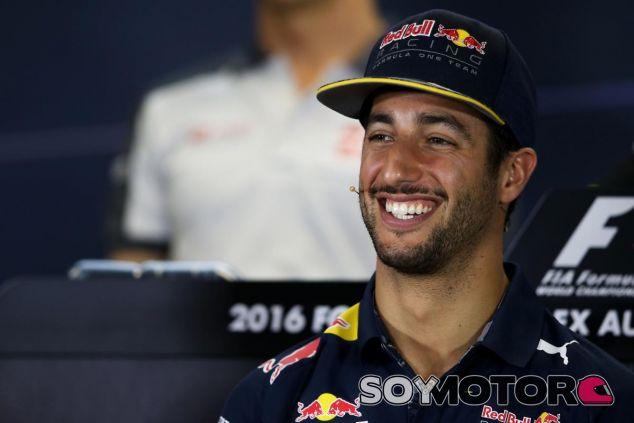 Daniel Ricciardo en la rueda de prensa del GP de Australia - SoyMotor