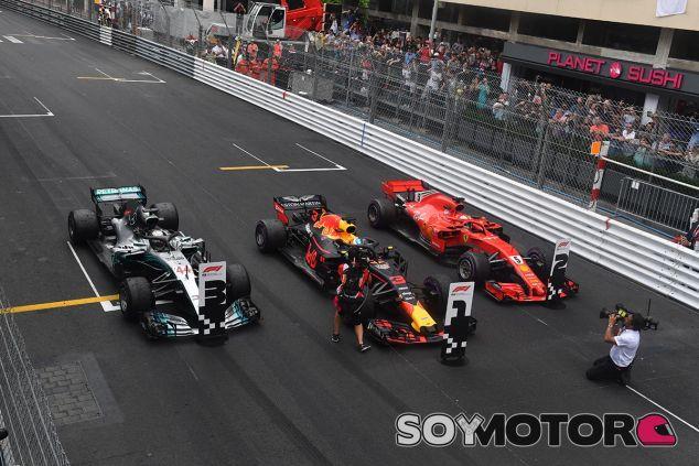Los tres primeros clasificados del GP de Mónaco - SoyMotor