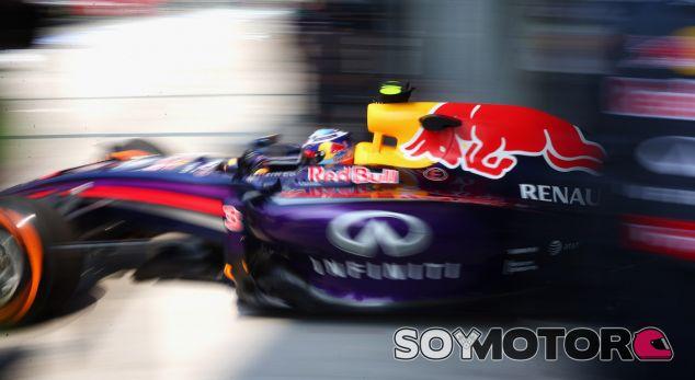 Red Bull en el GP de Malasia F1 2014: Viernes