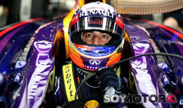 Red Bull en el GP de Bélgica F1 2014: Viernes