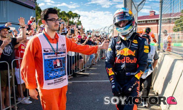 Ricciardo, frustrado tras el GP de Australia, ya piensa en Shanghái - SoyMotor