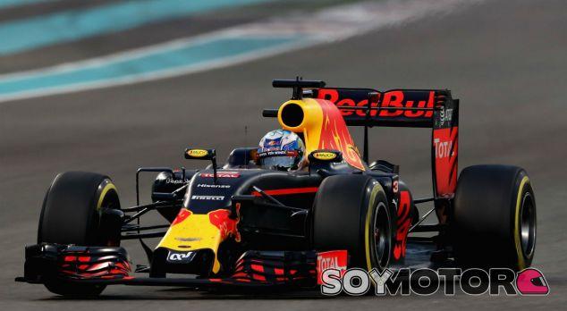 Ricciardo durante una carrera esta temporada - LaF1
