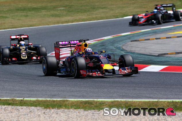 Daniel Ricciardo en Barcelona - LaF1.es