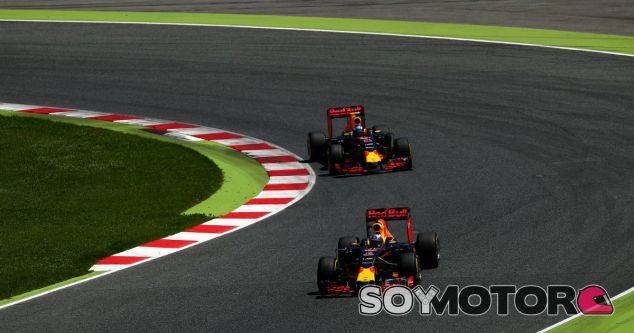 Ricciardo y Verstappen en Barcelona - LaF1