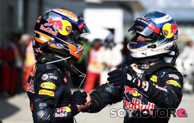 Daniel Ricciardo y Max Verstappen en Malasia - LaF1