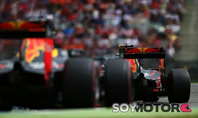 Daniel Ricciardo y Max Verstappen en Alemania - LaF1