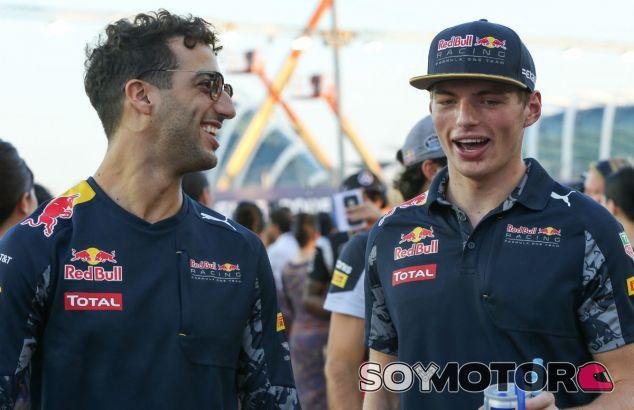 """Ricciardo prevé tensión con Verstappen como """"parte del juego"""" - SoyMotor"""