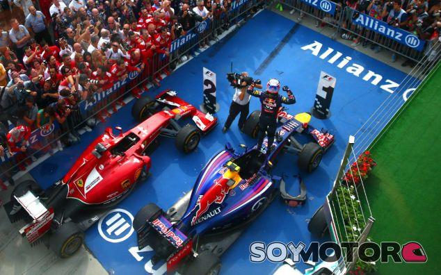 """La victoria de Hungría,  """"una gran actuación"""" de Daniel Ricciardo"""