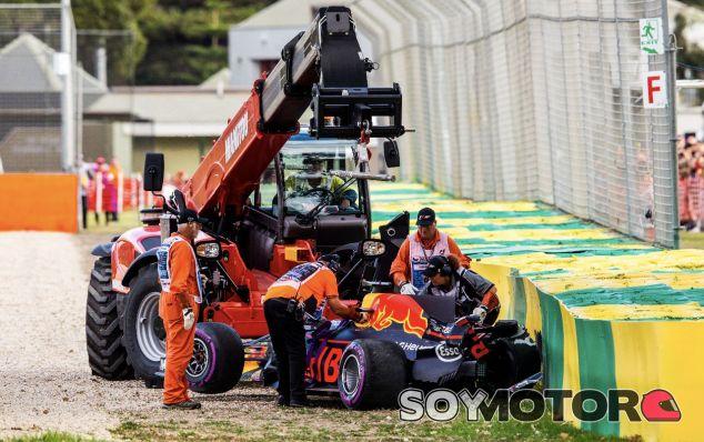 Accidente de Ricciardo en Melbourne – SoyMotor.com