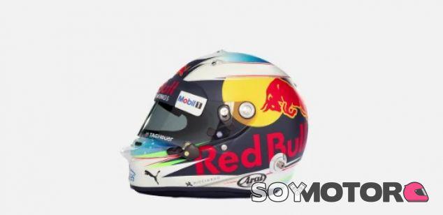 VÍDEO: El casco de Daniel Ricciardo para 2017 - SoyMotor.com