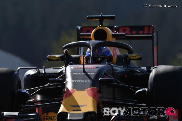 Daniel Ricciardo con el halo en Bélgica 2016 –SoyMotor.com