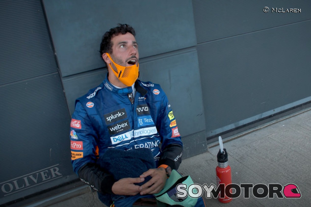 Ricciardo corrió en Silverstone con fiebre - SoyMotor.com