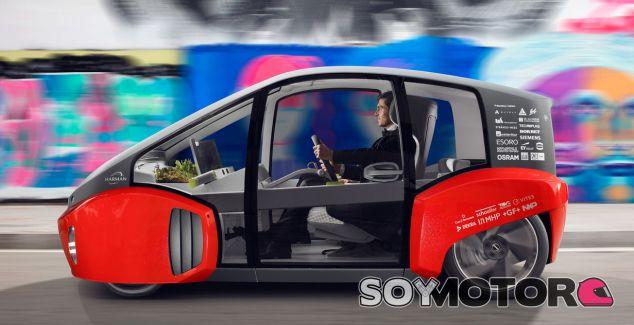 Rinspeed Oasis concept, el nuevo coche autónomo - SoyMotor.com