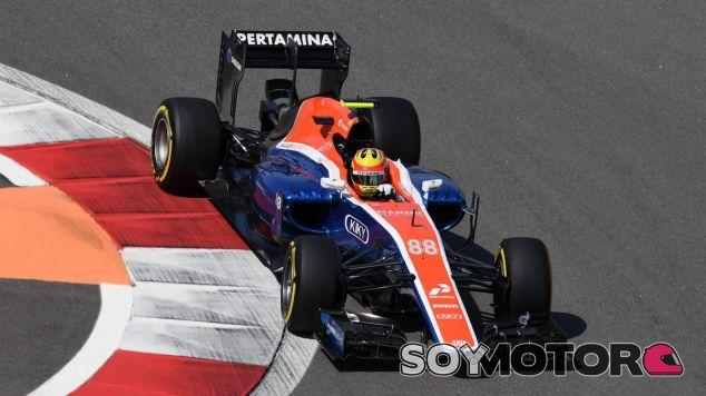 Rio Haryanto durante los libres del GP de Rusia - LaF1