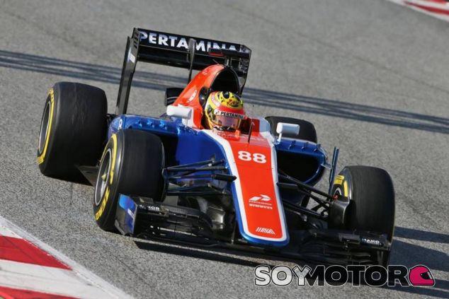 Rio Haryanto, con ganas de empezar la temporada - LaF1