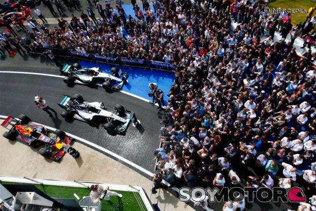 Los tres primeros coches del GP de Gran Bretaña - LaF1