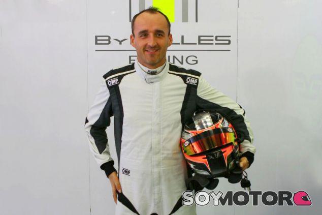 Kubica, en su presentación con ByKolles - SoyMotor