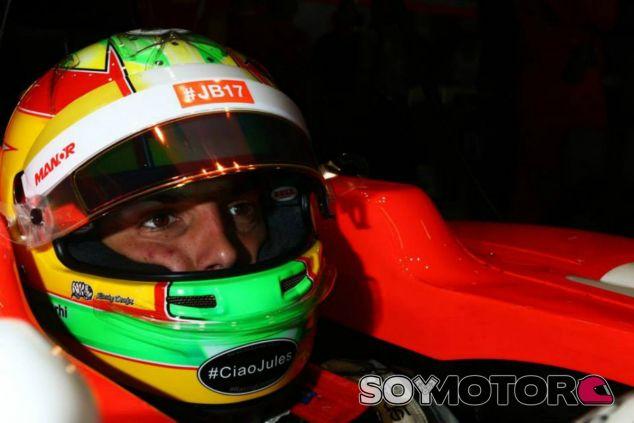 Merhi quiere mantener su puesto en la Fórmula 1 - LaF1