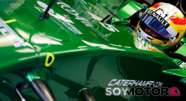 Caterham en el GP de Rusia F1 2014: Previo