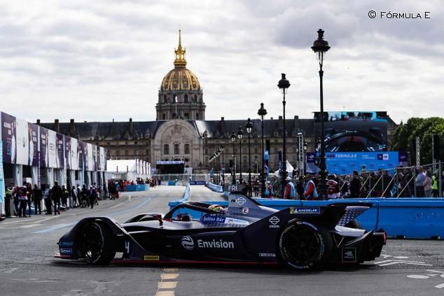 Robin Frijns en el ePrix de París - SoyMotor