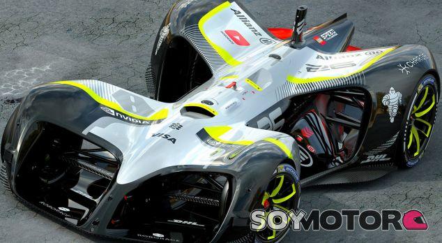 Roborace desvela el primer autónomo para competición, el robocar - SoyMotor.com