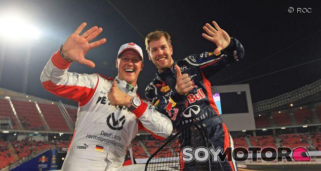 Sebastian Vettel y Michael Schumacher celebran su sexto ROC - LaF1