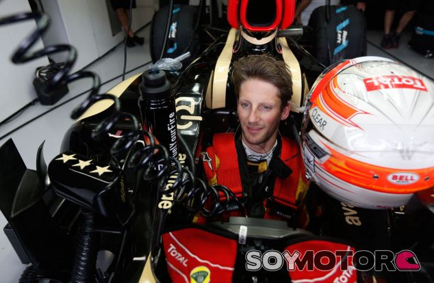 Romain Grosjean revela sus opciones de dorsal