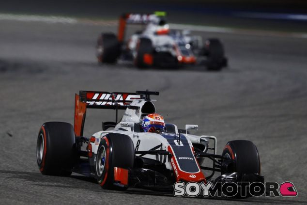 Haas está teniendo problemas con su alerón delantero - LaF1