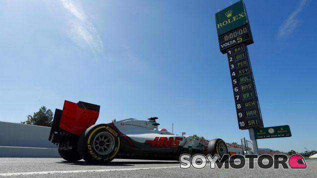 Grosjean espera luchar por los puntos mañana - LaF1