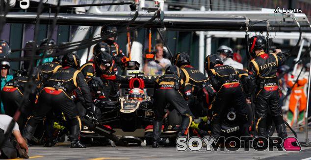 Pit stop de Romain Grosjean en Melbourne - LaF1