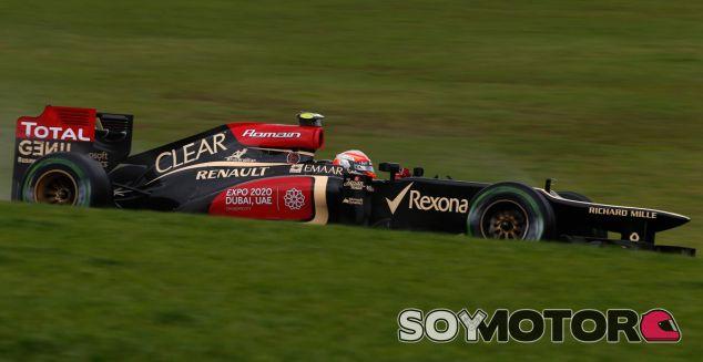 Romain Grosjean volverá a pilotar en 2014 con Lotus - LaF1