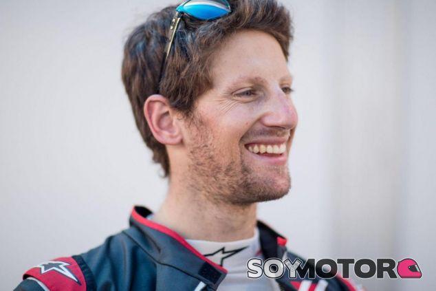 Grosjean, a un día de estrenar el Haas en temporada oficial - LaF1