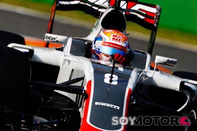 Romain Grosjean en Monza - LaF1
