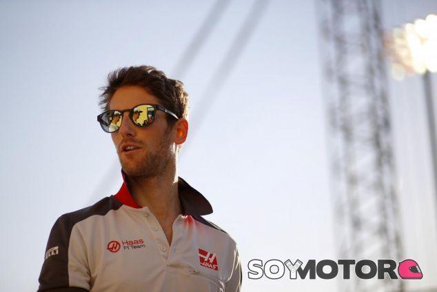 Grosjean, piloto del día en Baréin - LaF1