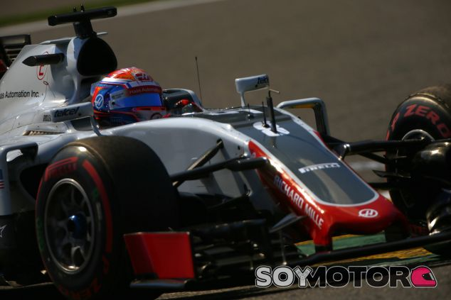 Romain Grosjean en Spa - LaF1