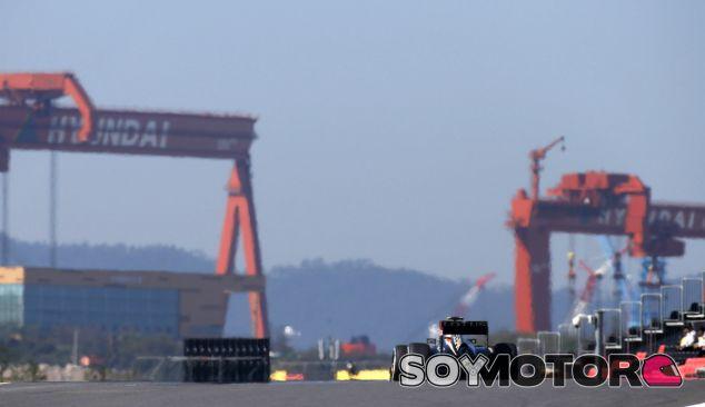 Romain Grosjean en la pista de Yeongam (Corea) - LaF1