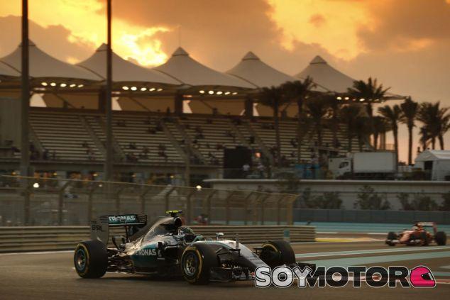 Rosberg acabó como el más rápido del viernes en Abu Dabi - LaF1