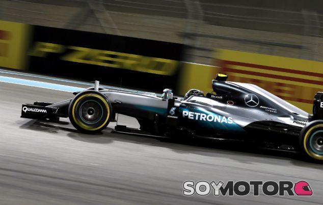 Rosberg durante su última carrera con Mercedes - SoyMotor