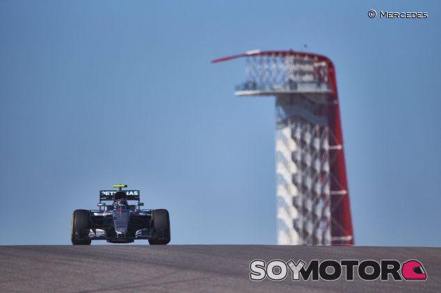 Nico Rosberg en Austin - LaF1