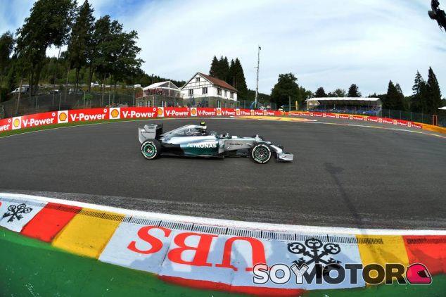 Nico Rosberg en La Source - LaF1