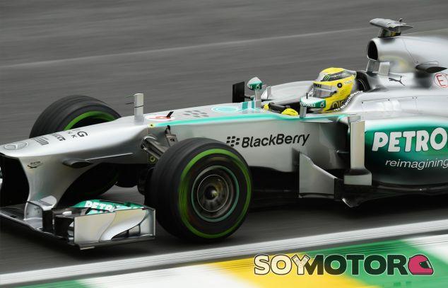 Nico Rosberg a los mandos de su W04 - LaF1