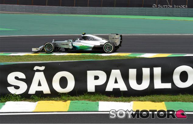 Nico Rosberg en el Gran Premio de Brasil - LaF1