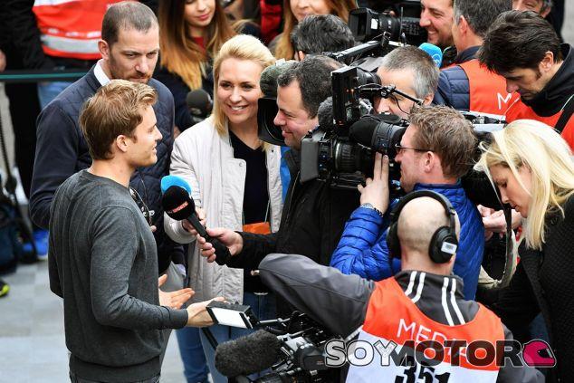 Nico Rosberg en Barcelona - SoyMotor