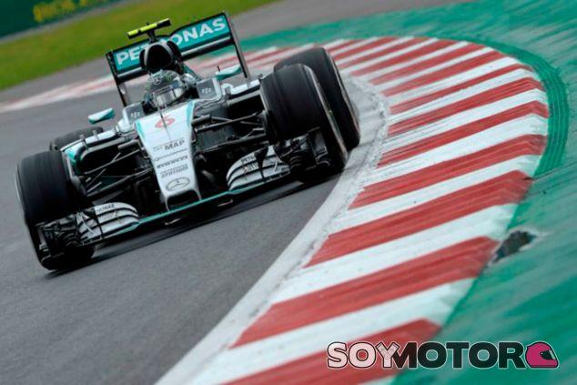 Nico Rosberg se lleva la 'pole' en México - LaF1