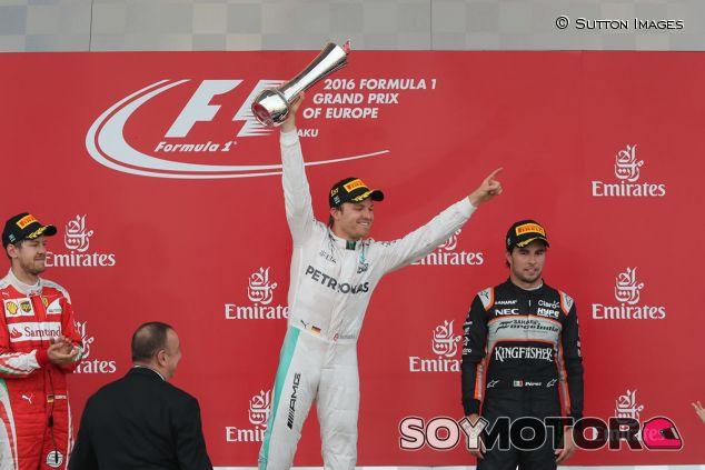 Nico Rosberg en Azerbaiyán - SoyMotor