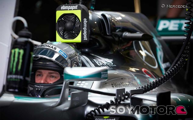 Nico Rosberg en el pasado Gran Premio de México - LaF1