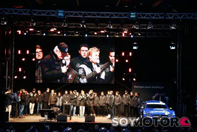 Nico Rosberg en la fiesta de fin de año de Mercedes - SoyMotor